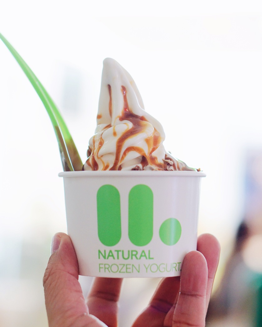 Llao llao Natural Frozen Yogurt Glorietta Makati