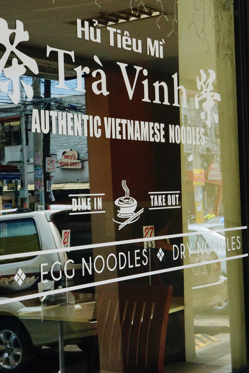 Tra Vinh Authentic Vietnamese Noodles Banawe Quezon City