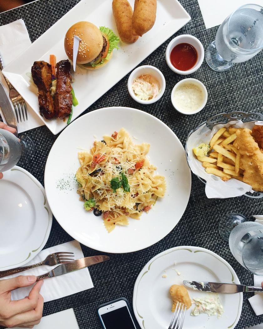 The Great Eatscape NBA Cafe Manila SM Aura