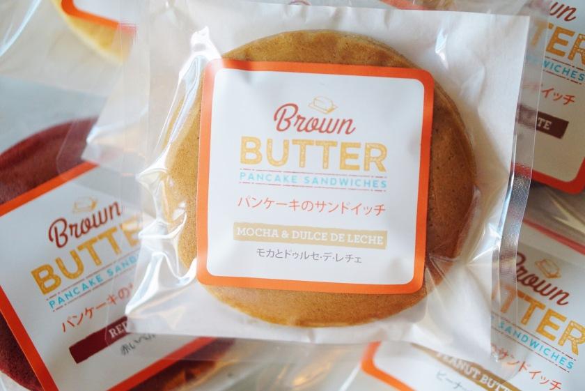 Brown Butter Pancake Sandwiches