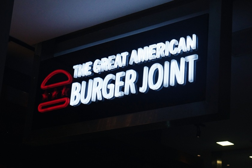 The Great Eatscape The Great American Burger Joint SM Aura
