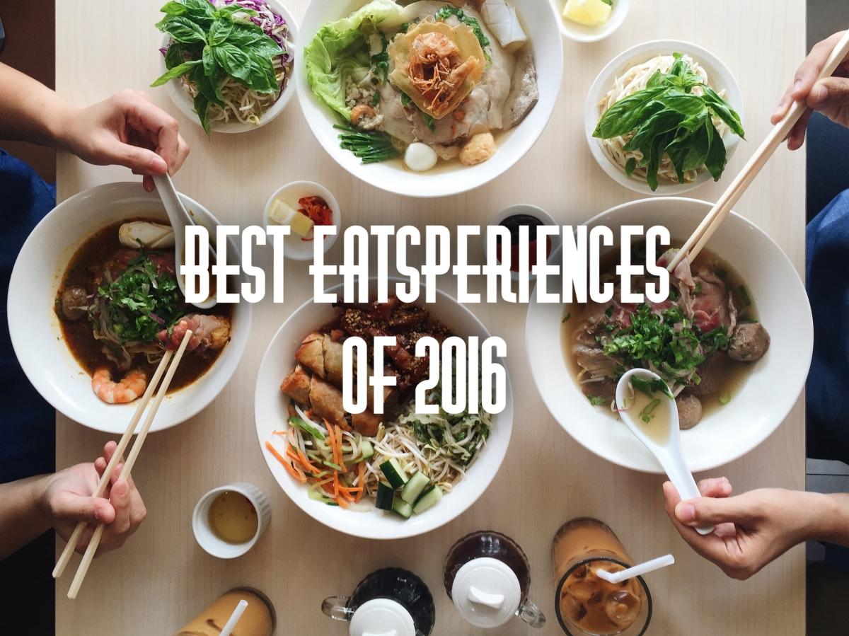 Best EATSperiences of2016