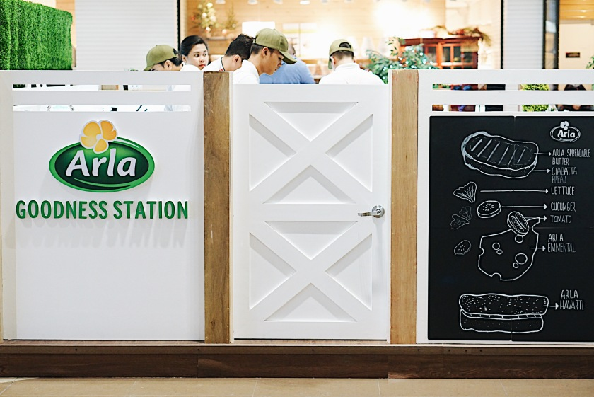Arla Goodness Station SM Aura