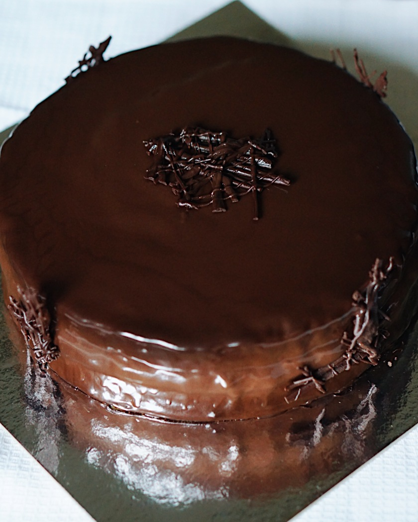 Joconde Cake With Chocolate Design : Chocolate Decadence Cake by Joconde Cakes   EATSplorations