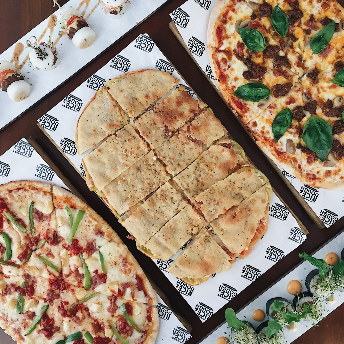 Rice & Dough – Sushi and PizzaBar