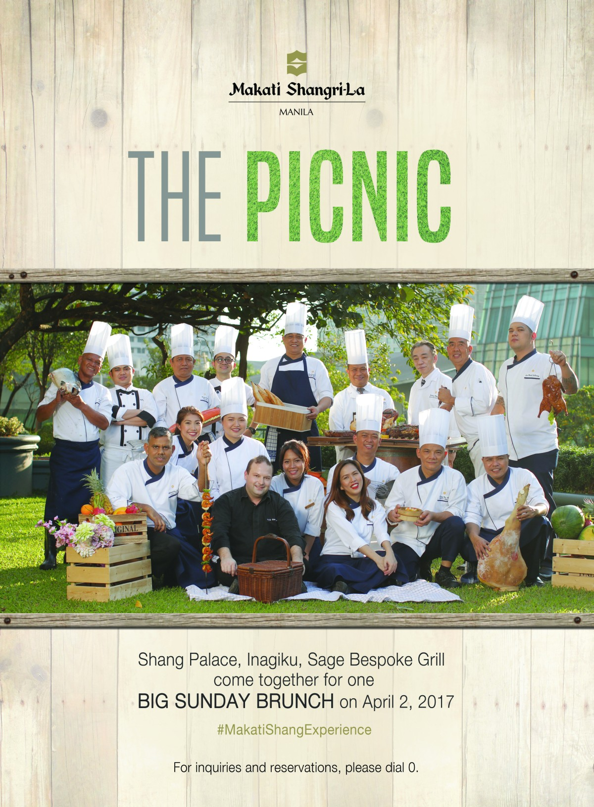 The Picnic: A Big Sunday Brunch – Makati Shangri-La