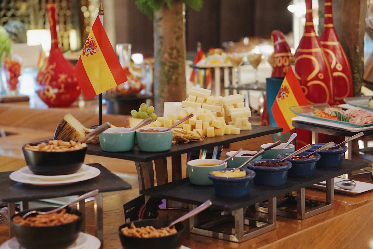 Spanish Food Festival at the Diamond Hotel Philippines