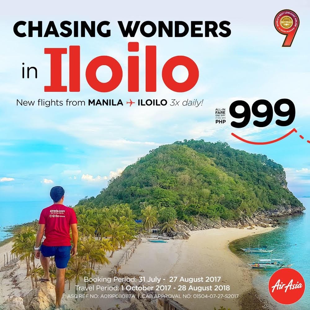 [Press Release] Chasing Wonders in Iloilo – AirAsia Philippines