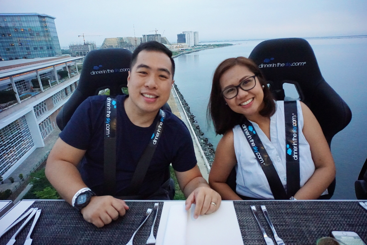 Dinner in the Sky Philippines – Solaire Resort