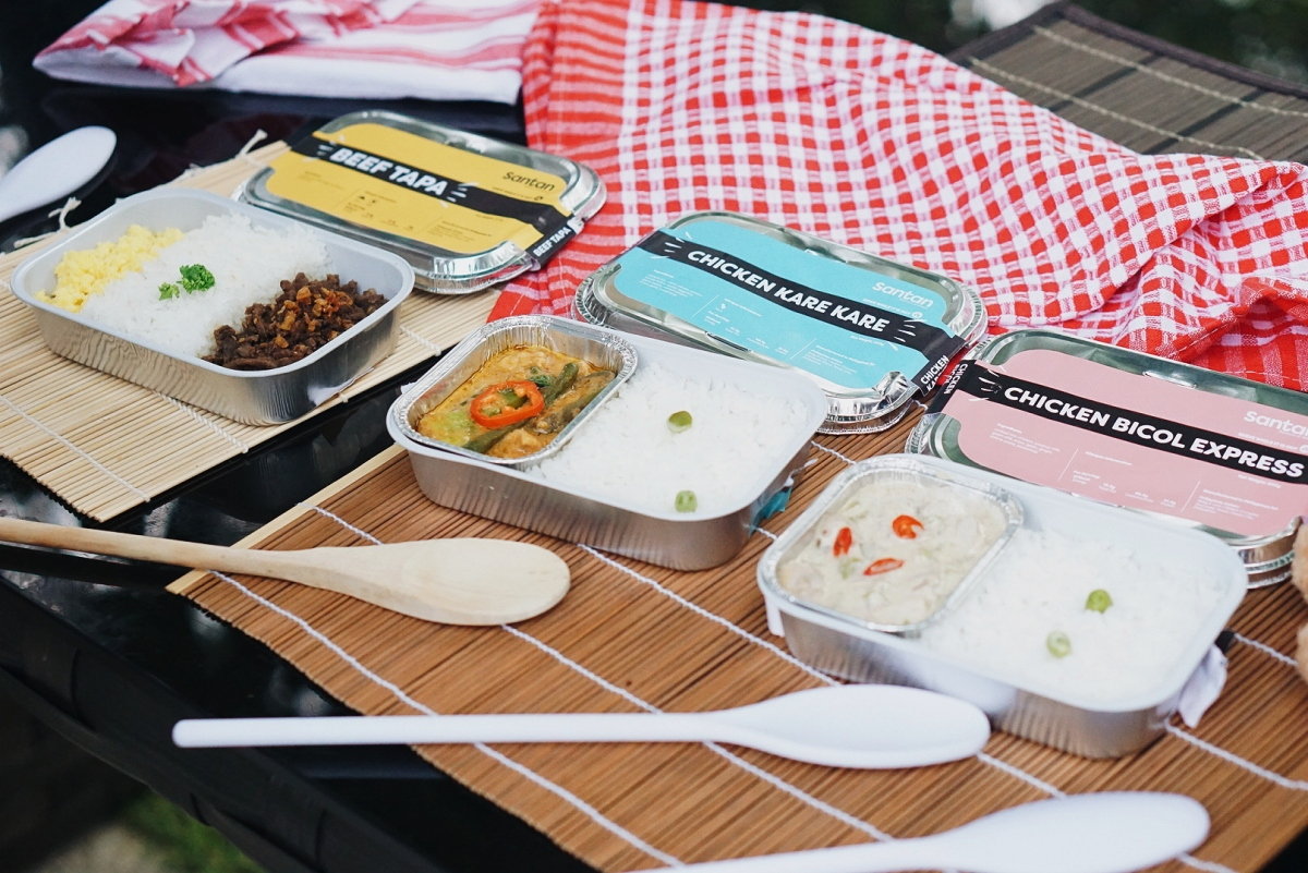 [AirAsia Santan] New In-Flight Meals Featuring Filipino Favorites