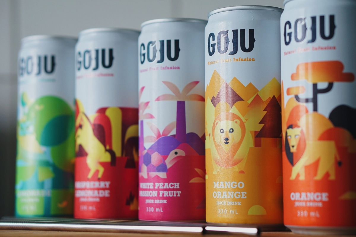 GOJU Natural Fruit Infusion Drinks