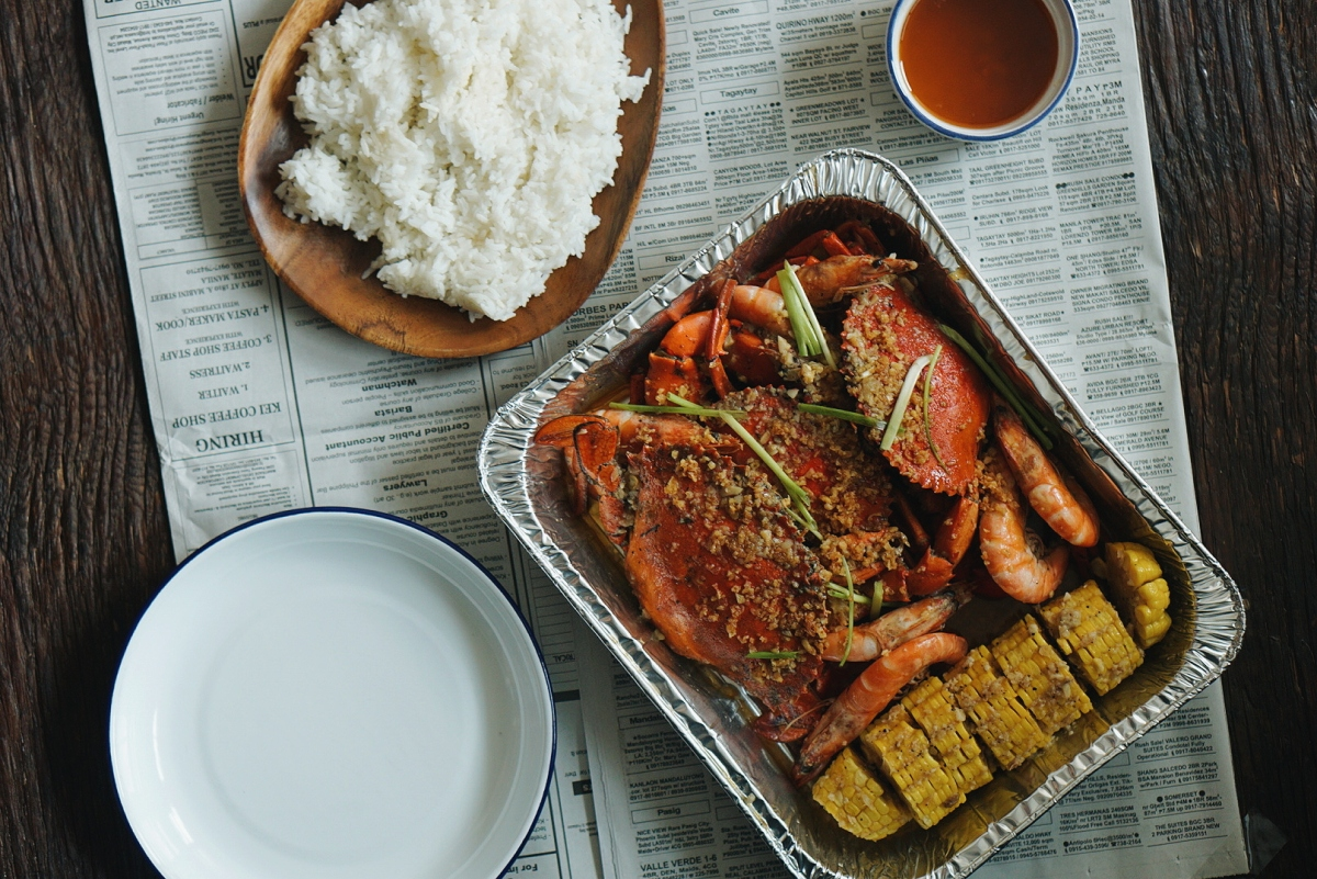 [EATS for Delivery] Seafood Trays by Holy Crab