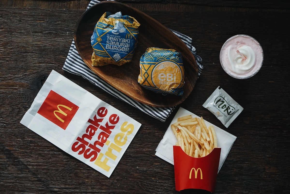 Flavors of Japan at McDonald's Philippines