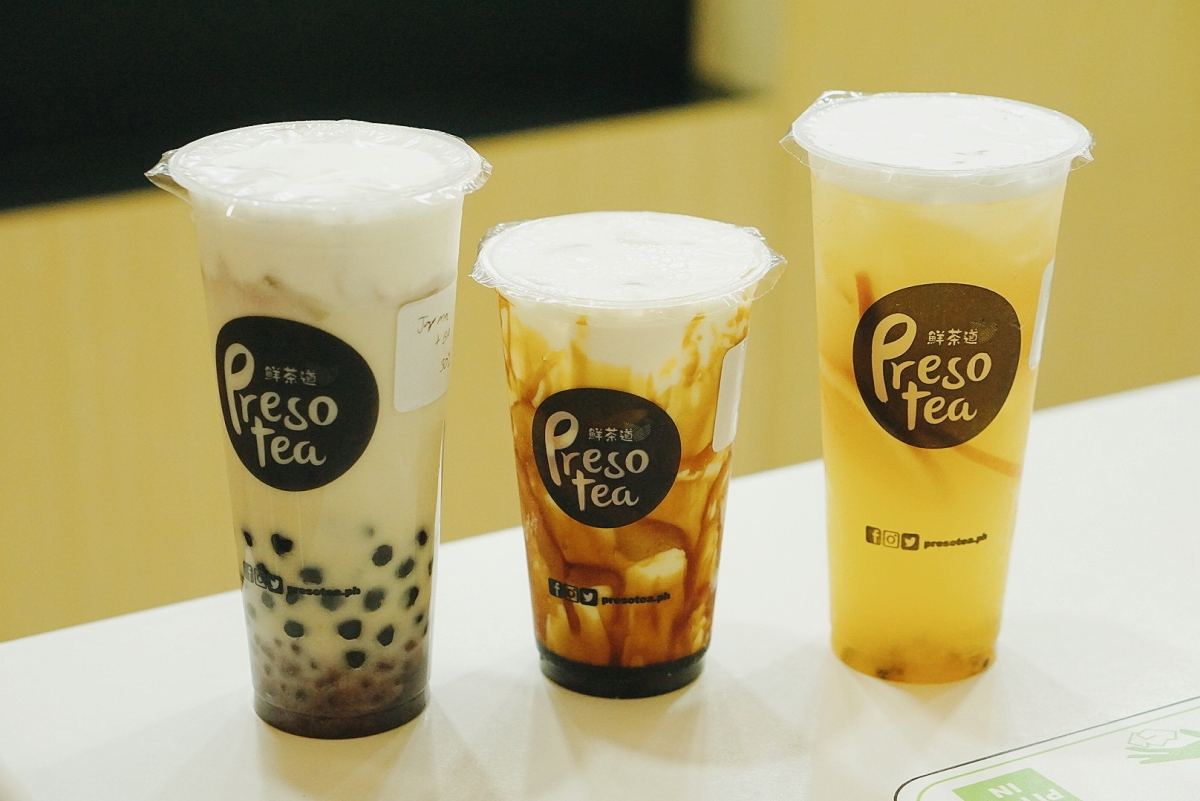 Freshly Brewed Tea at Presotea – SM North Annex