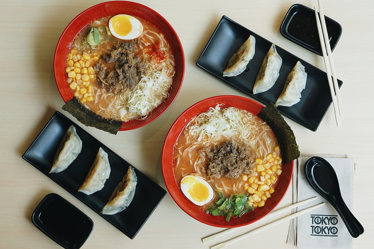 #RamenWeather with Tokyo Tokyo's Beef and Tomato Ramen