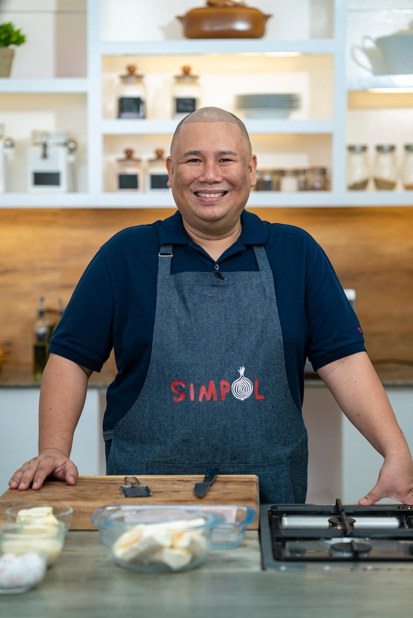 Simpol The Cookbook by Chef Tatung Sarthou